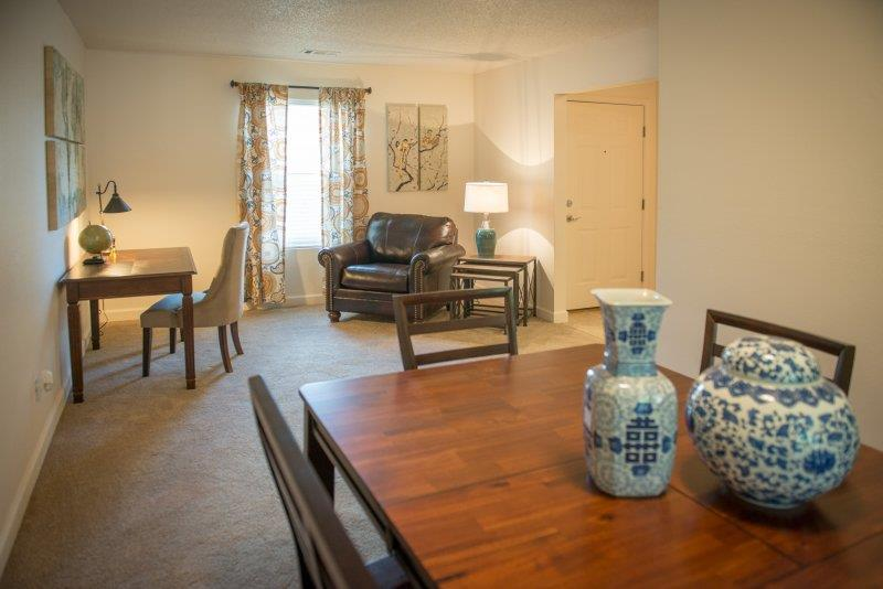 Personal Dining Area at Three Waters Green apartments in Pensacola, FL  32506