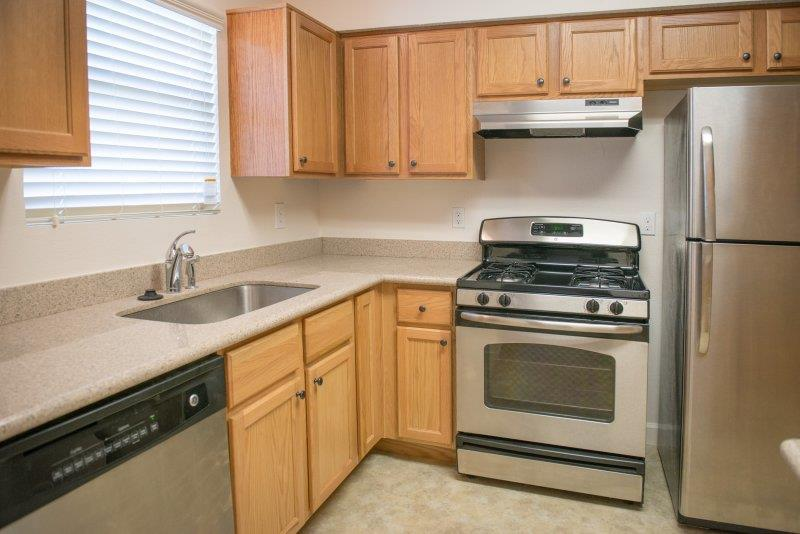 All Electric Kitchen at Three Waters Green apartments in Pensacola, FL  32506