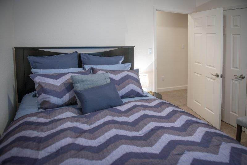 Beautiful Bedrooms at Three Waters Green apartments in Pensacola, FL  32506