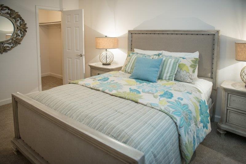 Live in cozy bedrooms at Three Waters Green apartments in Pensacola, FL  32506