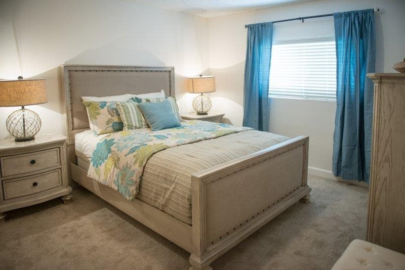 Luxurious Bedrooms at Three Waters Green apartments in Pensacola, FL  32506