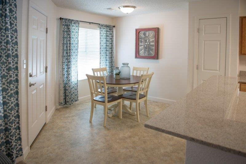 Personal Dinging Area at Three Waters Green apartments in Pensacola, FL  32506