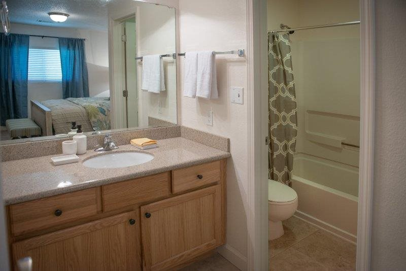 Rich Shaker Style Cabinetry at Three Waters Green apartments in Pensacola, FL  32506