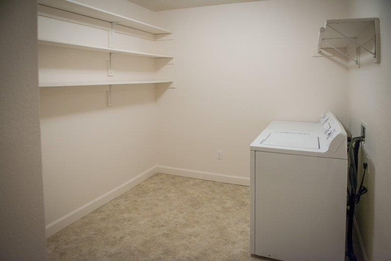 Utility Room With Washer/Dryer Hookup at Three Waters Green apartments in Pensacola, FL  32506