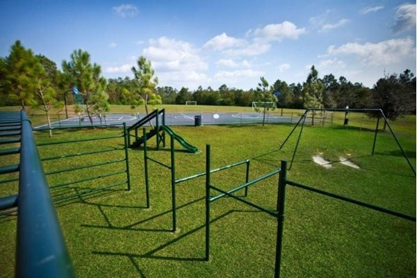 Playground and park at Three Waters Green apartments in Pensacola