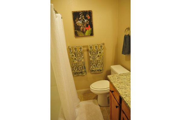 Granite Style Countertops at Raeford Fields apartments in Raeford, NC