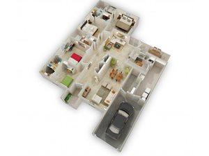 The Pine Garden Floorplan at Raeford Fields apartments in Raeford, Raeford, NC  28376