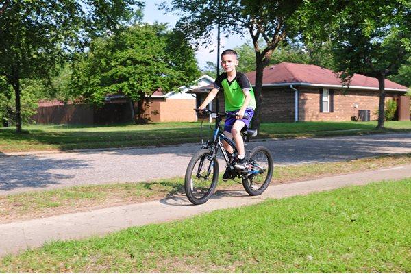 Cycling Tracks Across The Community