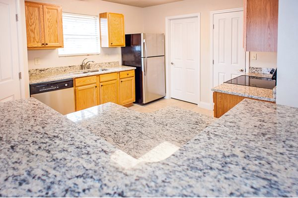 New Countertops and Cabinets at Raeford Fields apartments in Raeford, NC