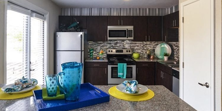 luxury apartments san antonio kitchen