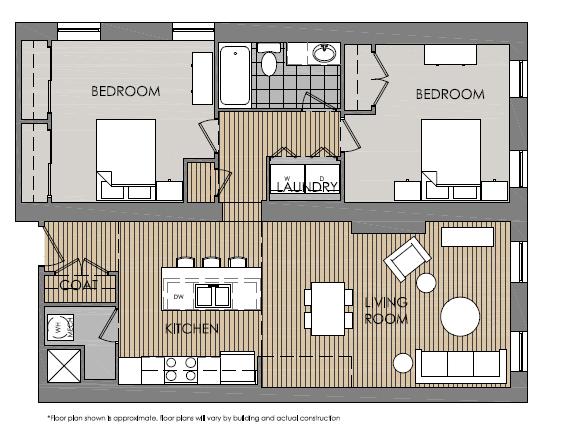 Mercer Commons Apartments Floor Plans
