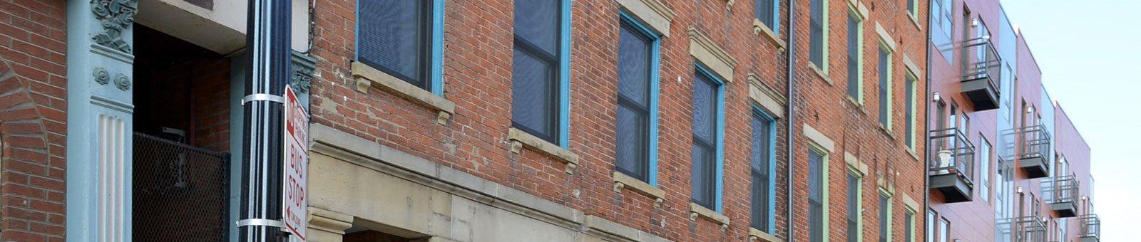 Exterior of Mercer Commons Apartments Cincinnati, OH
