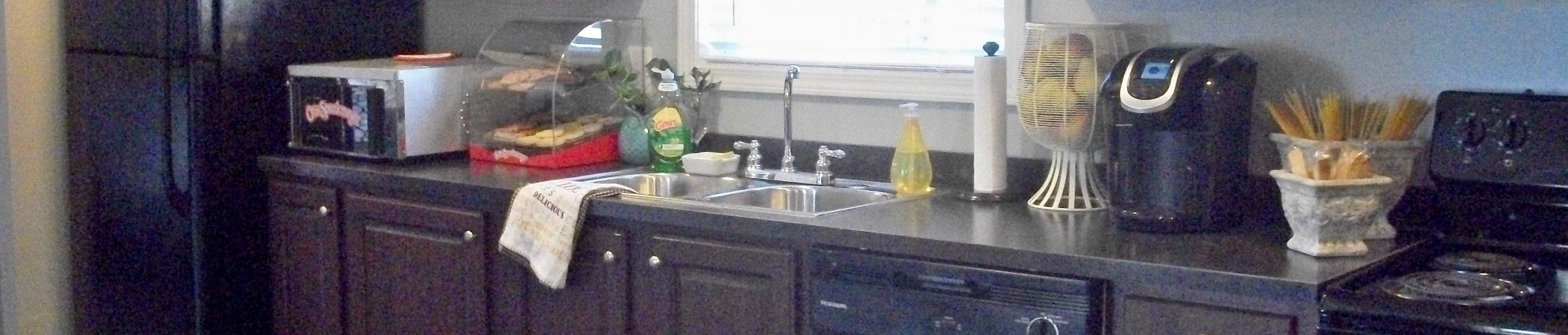 Fully-Equipped Kitchen at Pine Village Rental Homes in Sanford, NC