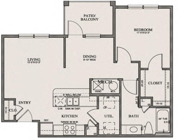 The Coulee Floor Plan 2