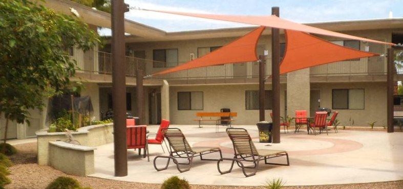 Collins Court Courtyard