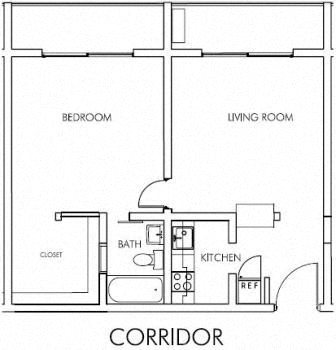The Livable Gallery Floor Plan 1