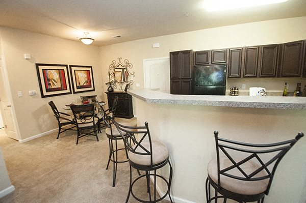 Breakfast Bar at The Enclave at Pamalee Square Apartments, Fayetteville, NC,28301