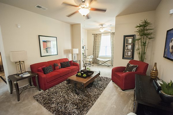 Lush Wall-to-Wall Carpeting at The Enclave at Pamalee Square Apartments, Fayetteville, NC,28301