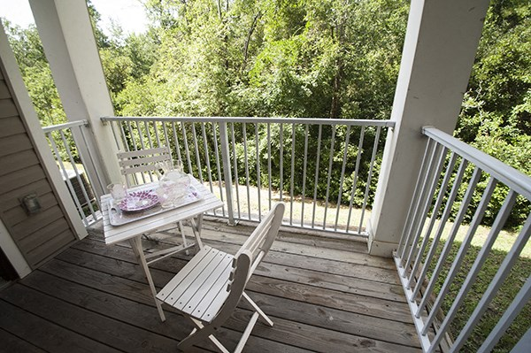 Private Patios at The Enclave at Pamalee Square Apartments, Fayetteville, NC,28301