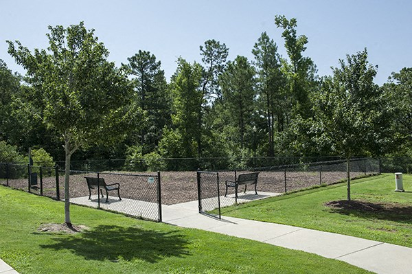 Dog Park at The Enclave at Pamalee Square Apartments, Fayetteville, NC,28301