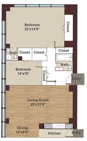 Rittenhouse claridge apartments 201 s 18th street for Rembrandt homes floor plans