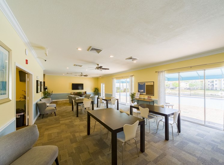 Tuscan Isle Apartments Clubhouse