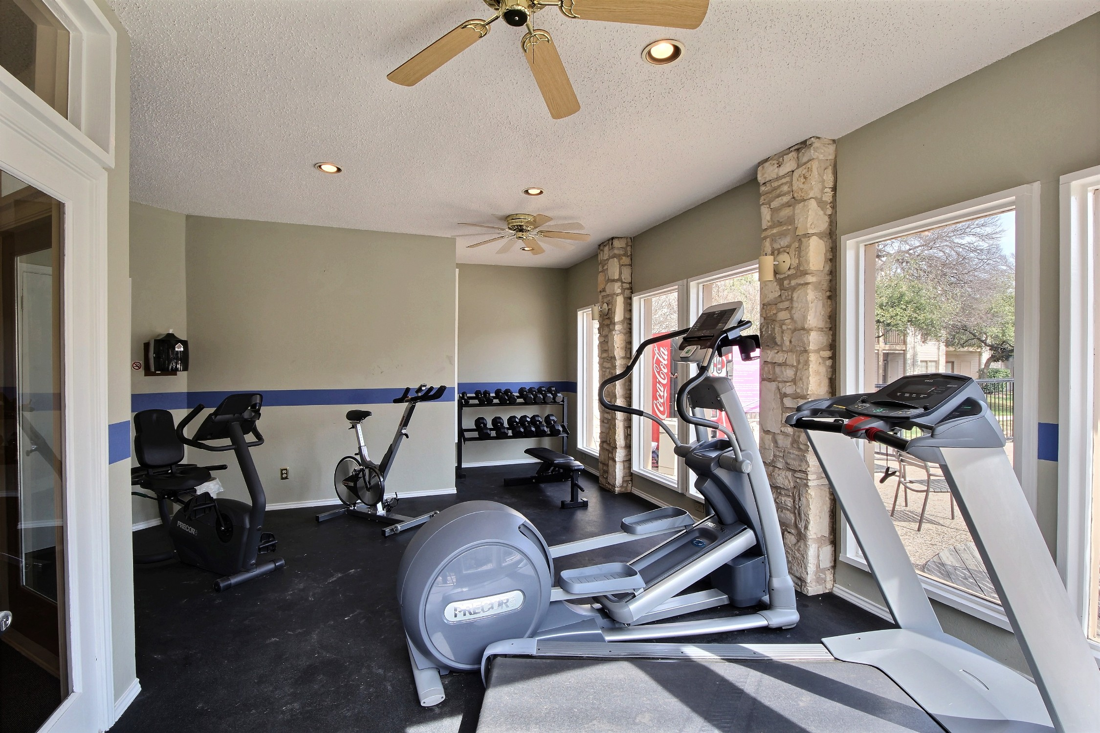 Fitness center will push you to your next level