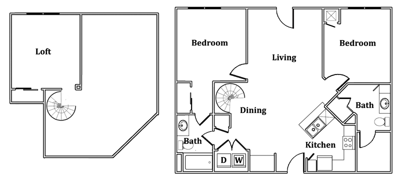 Loft Floor Plan 5