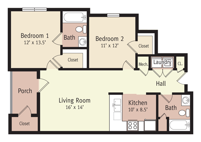 The Monroe Floor Plan 2