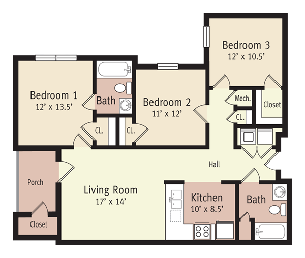 The Washington Floor Plan 6