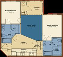 The Ivy Floor Plan 1