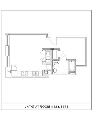 Unit 07, Floors 4-16