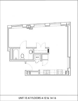 Unit 10, Floors 4-16