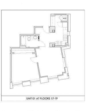 Unit 01, Floors 17-19