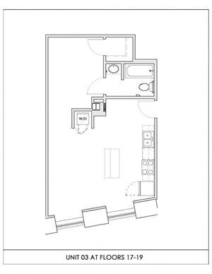 Unit 03, Floors 17-19