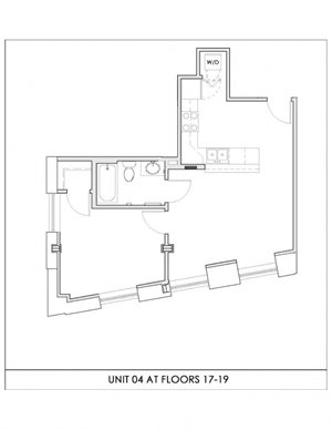 Unit 04, Floors 17-19