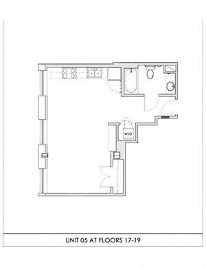 Unit 05, Floors 17-19