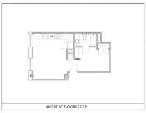 Unit 07, Floors 17-19