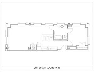 Unit 08, Floors 17-19