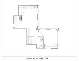 Unit 09, Floors 17-19