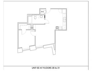 Unit 02, Floors 20-21