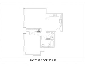 Unit 05, Floors 20-21