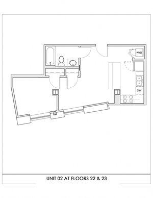 Unit 02, Floors 22-23