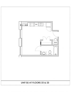 Unit 05, Floors 22-23