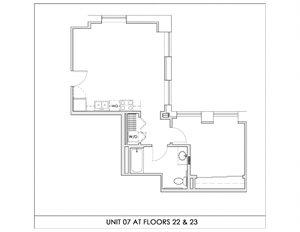 Unit 07, Floors 22-23