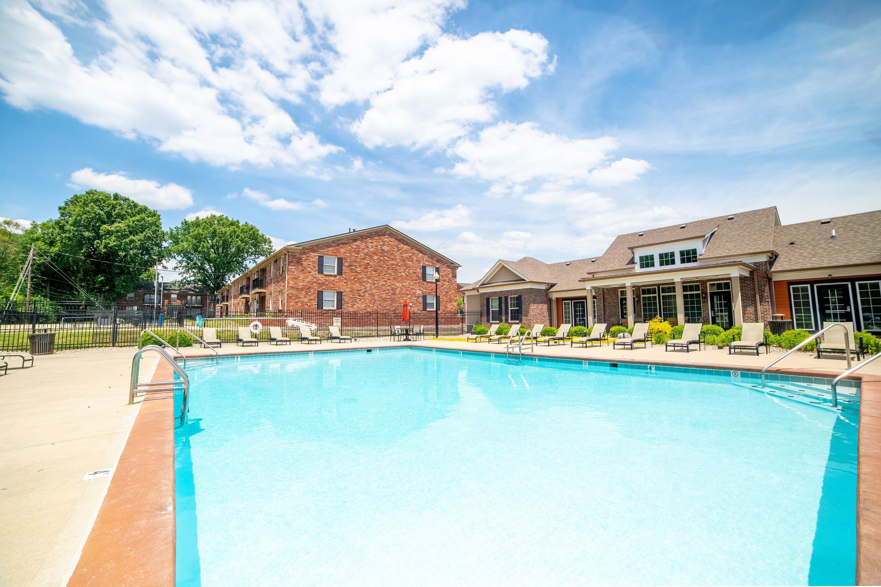 Crystal Clear Swimming Pool at Buckingham Monon Living, Indianapolis, IN