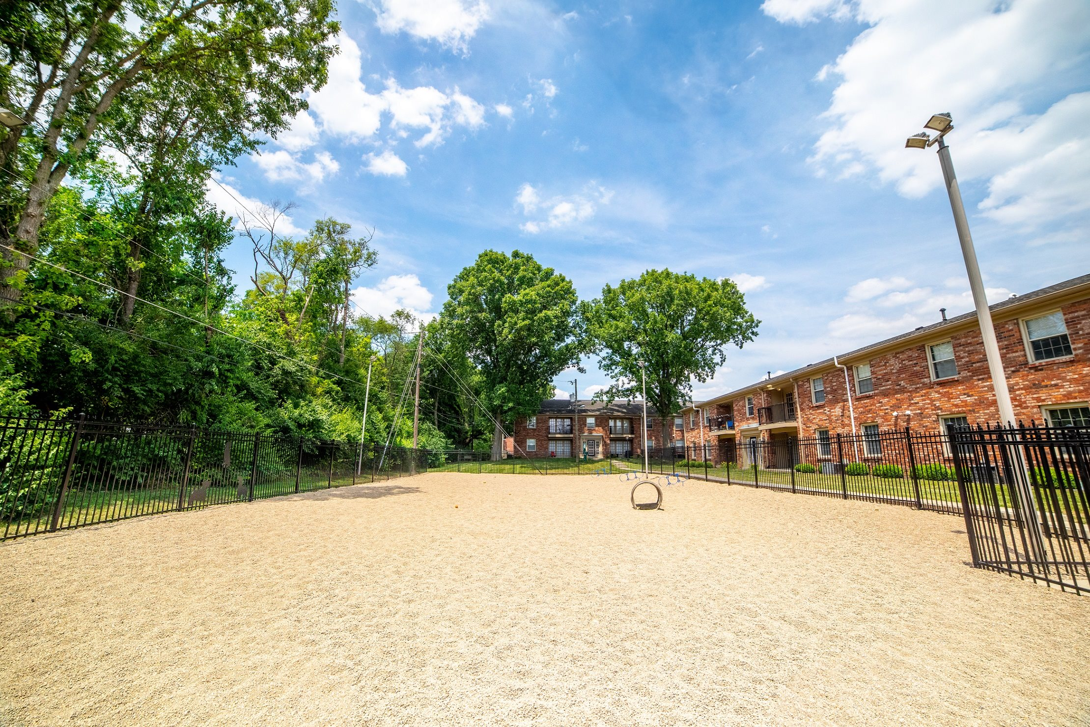 Dog Park at Buckingham Monon Living, Indianapolis, Indiana