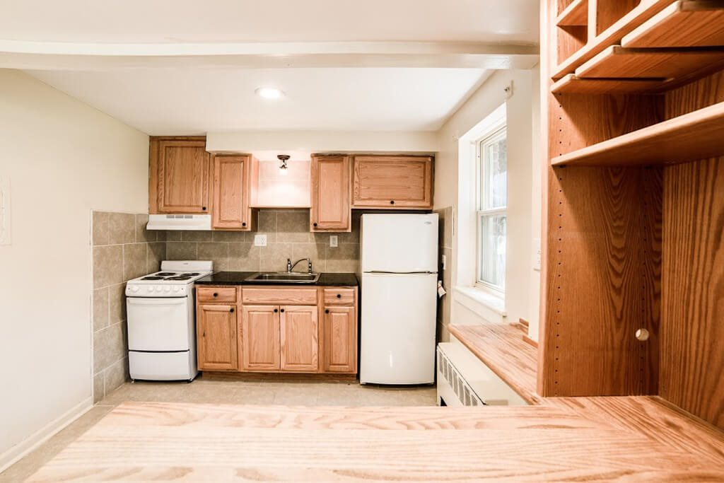 Granite Counter Tops In Kitchen, at Buckingham Monon Living, Indianapolis, IN
