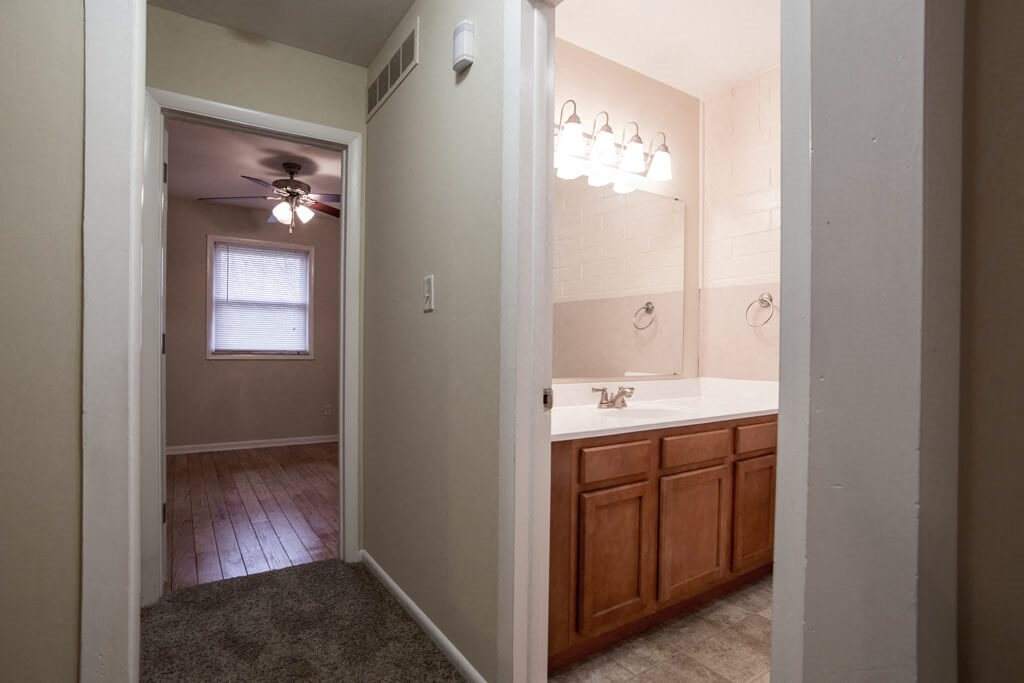 Designer Bathroom Suites, at Buckingham Monon Living, Indianapolis, IN 46220