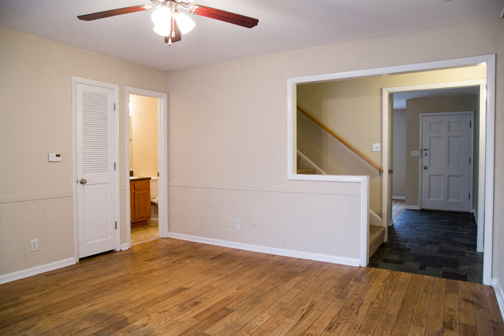 Warm Living And Dining Room, at Buckingham Monon Living, Indianapolis Indiana